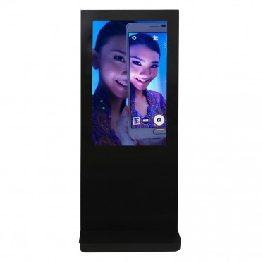 OUTDOOH - 46'' and 55'' outdoor kiosk for Samsung OHF screens