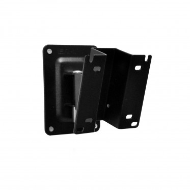 Antitheft tilting and swivelling wall mount