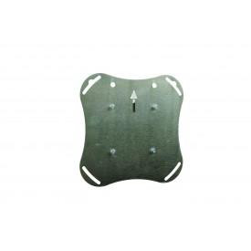 Adapter plate VESA 200x200, M6 holes
