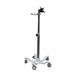 Mobility trolley with height adjustment