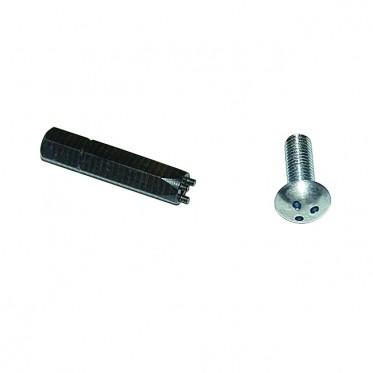 tool for anti-theft screw