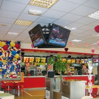 Support plafond pour 3 écrans ou plus