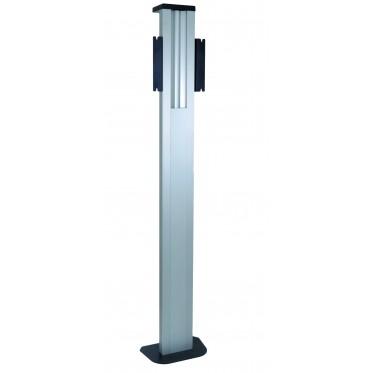 Floor-wall mount