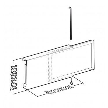 Polycarbonate protection for screen