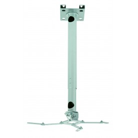 Universal ceiling mount for projector with cable management