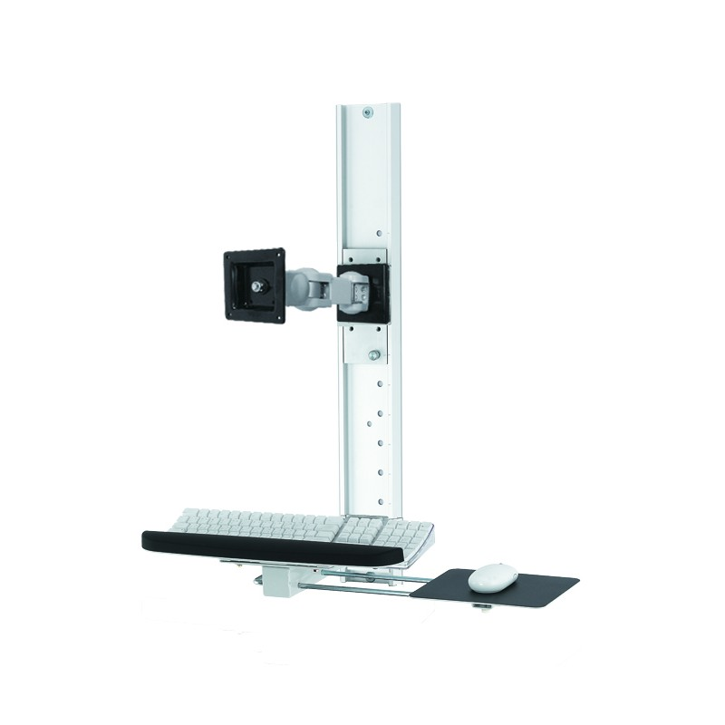 Track With Sliding Plate Wall Mounts Ref 717410