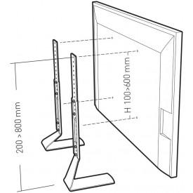 support ecran fit-up xl ecran