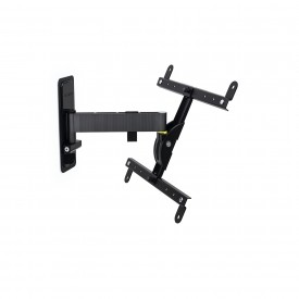 EXO range-tilting and swivelling wall mount for screens