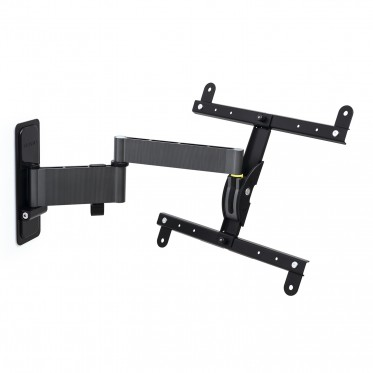 EXO 400TW3-tilting and swivelling wall mount for screen with 2 arms