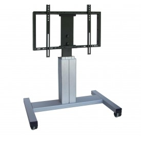 cart for screens with vertical transmation remote control - easylift