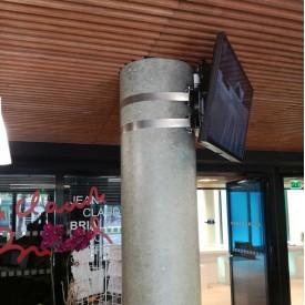 Pole mount VESA 200-400 - ERARD PRO