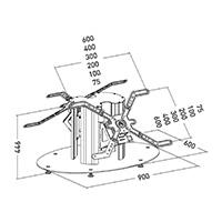 PLASMATECH H40 BTB_aluminium stand