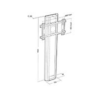 PLASMATECH floor-wall 1 screen_fixed stand