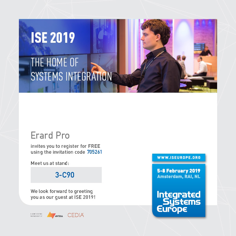 Free registration ISE 2019