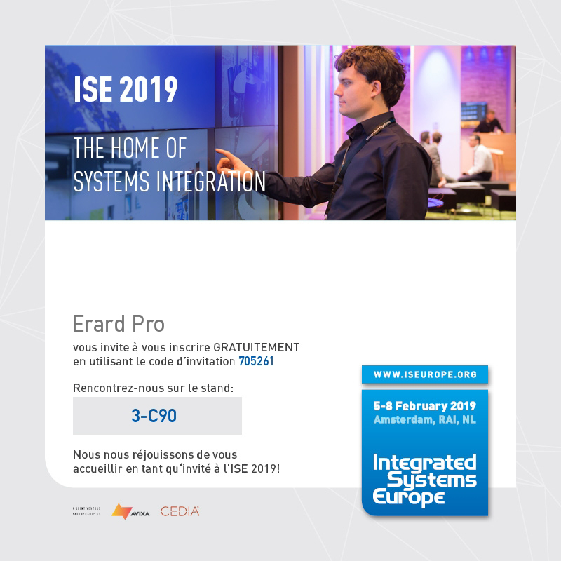 Inscription ISE 2019