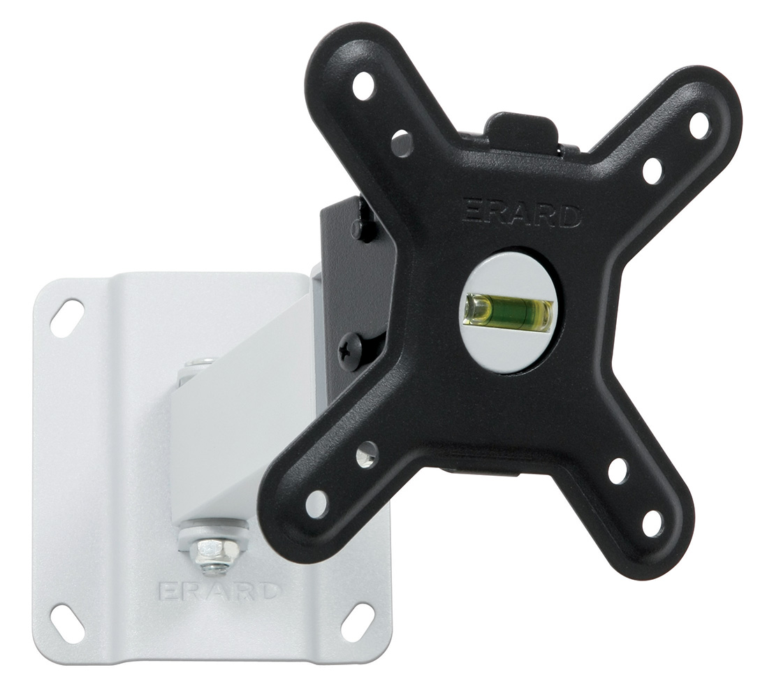 CLIFF 100TW90 - tilting and swiveling wall mount