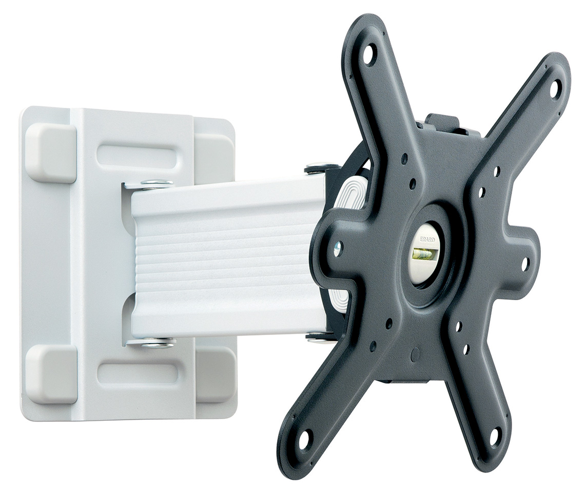 CLIFF 200TW90 - tilting and swiveling wall mount