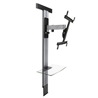 EXOSTAND 400 - tilting and swiveling wall mount