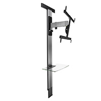 EXOSTAND 600 - tilting and swiveling wall mount