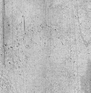Shuttered concrete