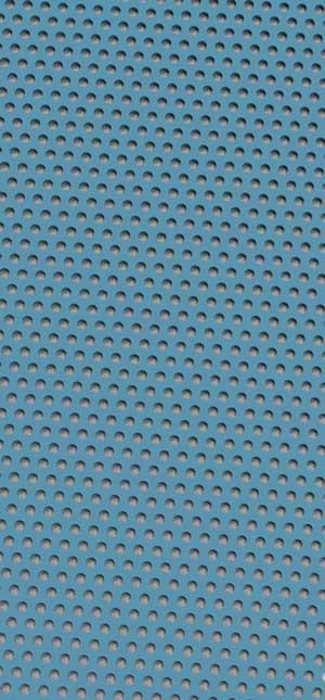 Métal perforé Pastel Blue