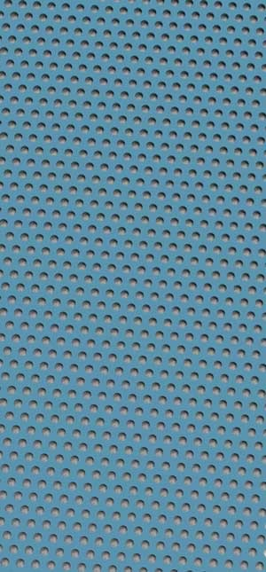 Perforated metal Pastel Blue