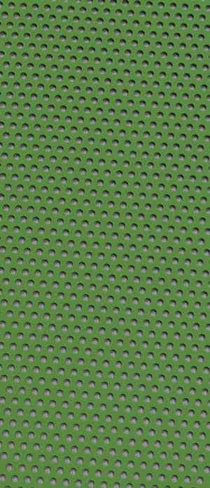 Perforated metal Grass Green