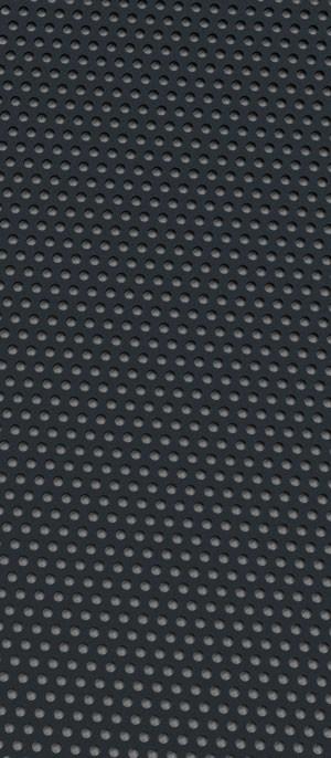 Perforated metal Signal Black