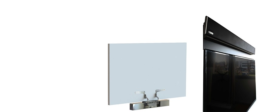 Universal mount for video bars and mount for NUREVA HDL300 sound bar